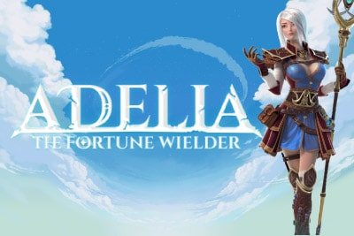 Adelia The Fortune Wielder Mobile Slot Logo