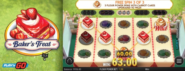 Bakers Treat Slot Machine Free Spins