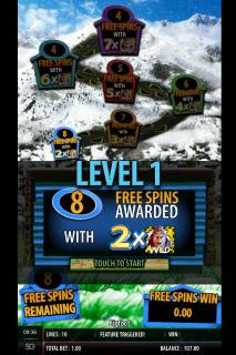 Barcrest The Legend Of Big Foot Slot Free Spins