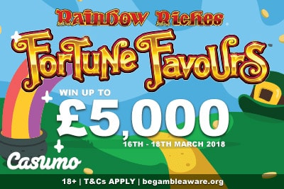 Win Up To £5K In Casumo Casino St Patrick's Day Promotion