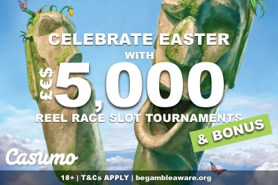 Celebrate With 5K Casumo Reel Races This Easter & A Bonus