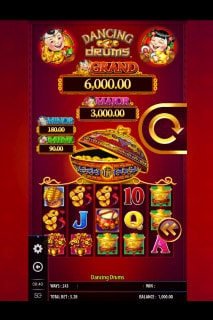 Dancing Drums Mobile Slot Machine