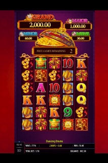 Dancing Drums Slot Free Spins Bonus