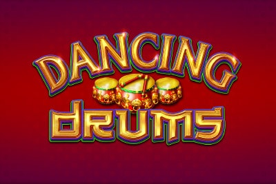Dancing Drums Mobile Slot Logo