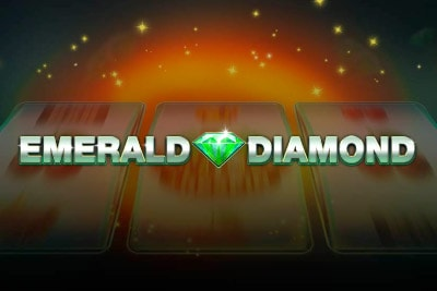Emerald Diamond Mobile Slot Logo