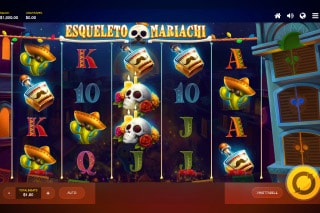 Esqueleto Mariachi Mobile Slot Machine