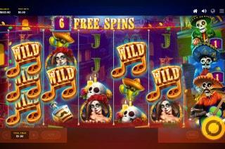 Esqueleto Mariachi Mobile Slot Free Spins