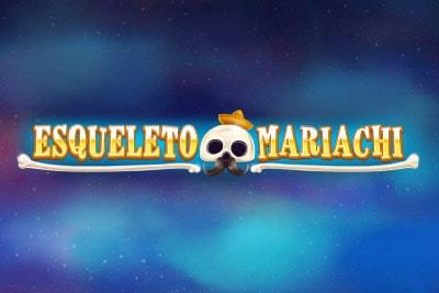 Esqueleto Mariachi Mobile Slot Logo