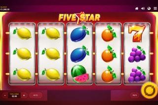 Five Star Mobile Slot Machine