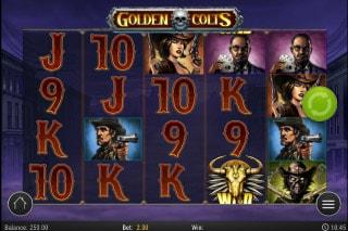Golden Colts Mobile Slot Machine