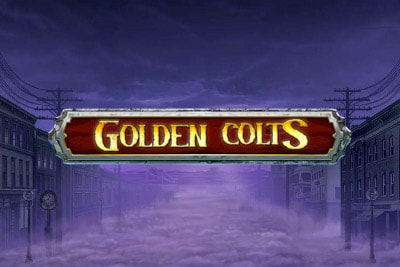 Golden Colts Mobile Slot Logo