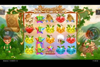 Iron Dog Studios Rainbow Wilds Slot Wild Reels