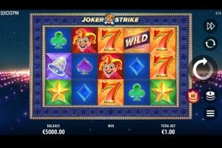 Joker Strike Mobile Slot Machine