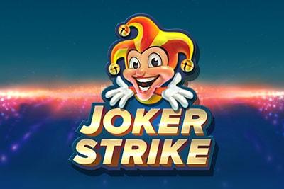 Joker Strike Mobile Slot Logo