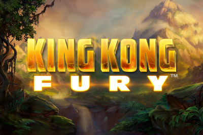 King Kong Fury Mobile Slot Logo