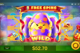 Lucky Easter Slot Free Spins Wild Win