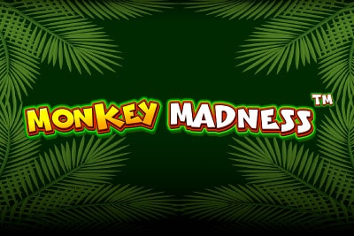 Monkey Madness Mobile Slot Logo