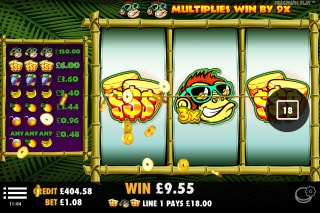 Monkey Madness Slot Win