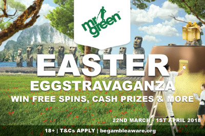 Win Free Spins, Cash Prizes & More At Mr Green Mobile Casino