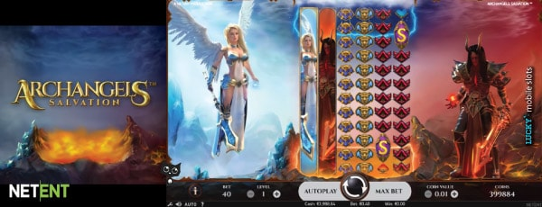 Archangels Salvation Online Slot With Colossal Reels