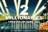 NetEnt Jackpot Slots Create 2 Millionaires On Same Day