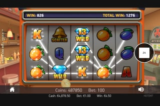 NetEnt Swipe and Roll Slot Win