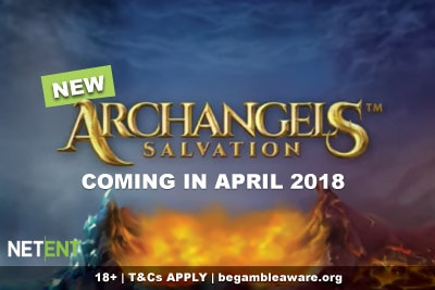 New Archangels Salvation Mobile Slot Coming In April 2018