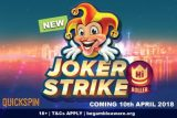 New Quickspin Joker Strike Mobile Slot Coming April 10th