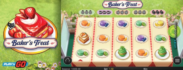 Play'n GO Bakers Treat Mobile Slot Game