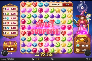 Play'n GO Sweet Alchemy Slot Sweet Surprise