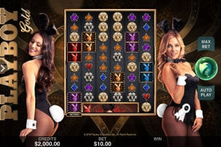 Playboy Gold Mobile Slot Machine