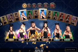 Playboy Gold Slot Bonus