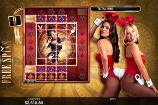 Playboy Gold Slot Free Spins