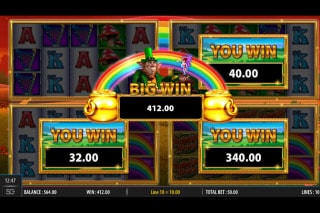 Rainbow Riches Fortune Favours Big Bet Big Wins