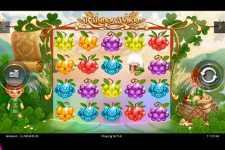 Rainbow Wilds Mobile Slot Machine