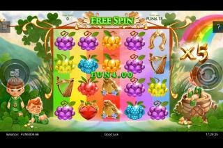 Rainbow Wilds Slot Free Spins