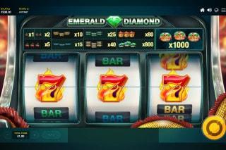 Red Tiger Emerald Diamond Slot 7s Win