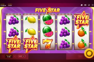 Red Tiger Five Star Slot Bonus Win