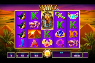 Sphinx Wild Mobile Slot Machine