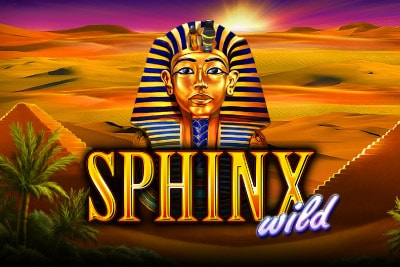 Sphinx Wild Mobile Slot Logo