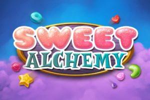 Sweet Alchemy Mobile Slot Logo
