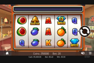 Swipe and Roll Mobile Slot Machine