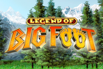 The Legend Of Big Foot Mobile Slot Logo