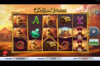 The Sand Princess Mobile Slot Machine