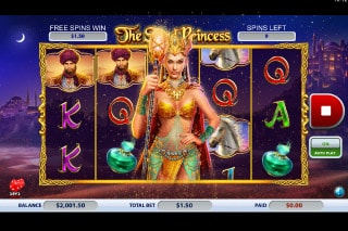 The Sand Princess Mobile Slot Free Spins