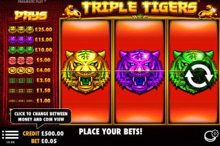 Triple Tigers Mobile Slot Game