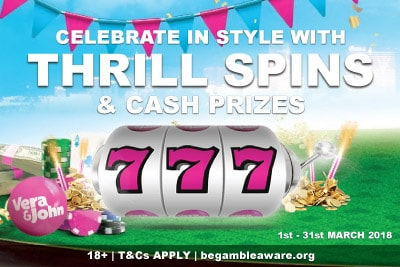 Celebrate With Vera John Casino Thrill Spins & Prizes This March