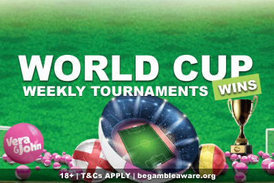 Vera&John World Cup Wins Weekly Tournaments