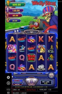 Wacky Races Mobile Slot Machine