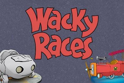 Wacky Races Slot Logo
